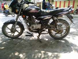 bajaj discover recently serviced
