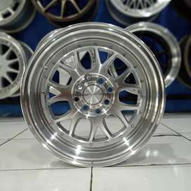 Velg Mobil Avanza, Yaris Type Masshu Ring 15x8 Silver Machine Face