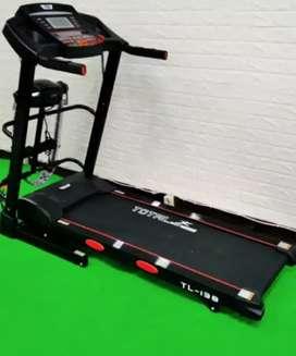 treadmill elektrik TL-138 electric J-604 // sepeda statis //