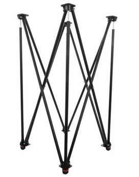 Carrom stand foldable and height ajustable