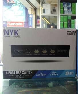 Data Switch Printer NYK 4port