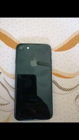 Iphone-7 (128gb) pure black-Mint condition