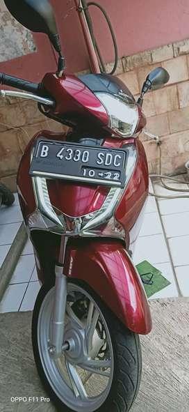 Dijual Honda Sh150i tahun 2017