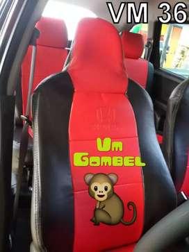 Ready cvr jok mobilio warna item merah mantul