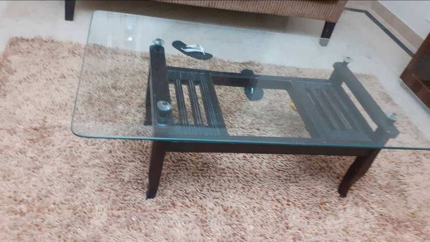 Glass top table for sale 0