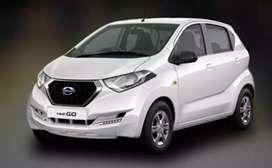 Datsun redi go(petrol+cng) taxi permit