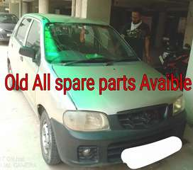 Alto car All old used spare parts available in Chandigarh