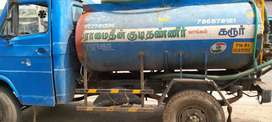 Tata 407 water tanker  4000litres contact