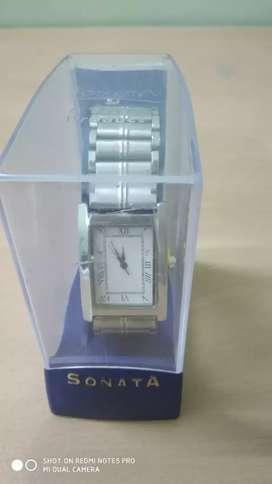 Wrist Watch silver colour