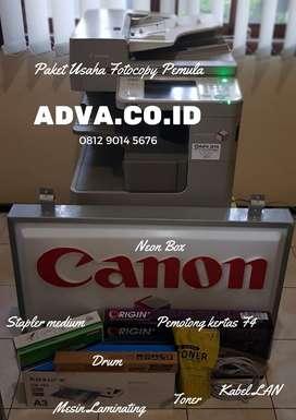 Paket Usaha Fotocopy Canon