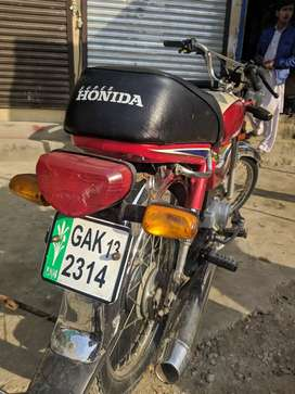Honda cd 70 2013 model. 9/10 full genuine condition.