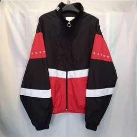 Attention 3 tones colour windbreaker jaket