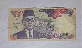 Uang Kertas Kuno Rp. 10.000,-