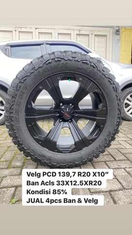 Velg R20 PCD 6X139,7 Ban 33x12.5