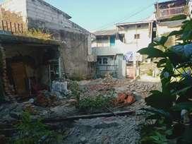 Tanah dijual 130 m. Dalam kota. Bebas banjir.