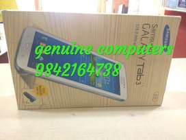"""new samsung tab 3v,3hd ,7.5"""" screen starting price rs3900,rs4900 10nos"""