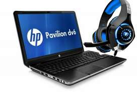 Hp Gaming Laptop with 8GB RAM, AMD Graphics Card and Gaming Headset!!!