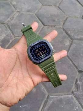 Jam tangan digitec Green original