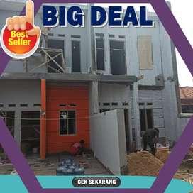 Jual rumah di Jagakarsa hanya 600 juta an 2 lantai termurah di Jakarta
