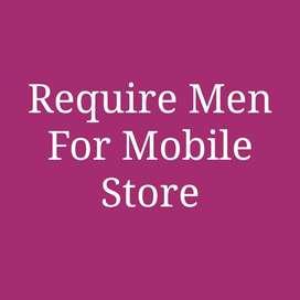 REQUIRE MEN FOR MOBILE SHOP