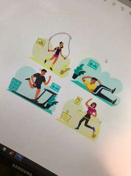 Home gym/cross fit/yoga Trainer and home training available