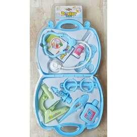 Mainan Dokter Set Koper Biru 650E-7