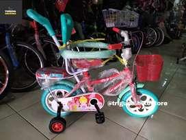 "Sepeda Mini Atlantis dengan Jagaan 12"""