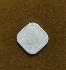 5 Paisa Coin