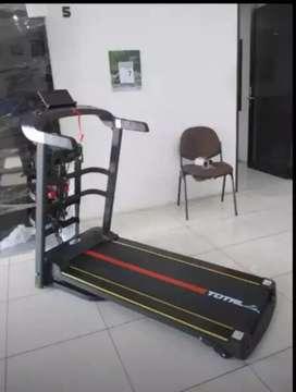 Ready treadmill elektrik 4 fungsi 1,5hp manual incline