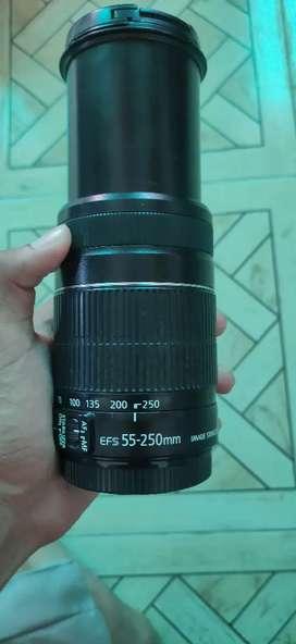 Canon 55-250 lens for canon dslr camera