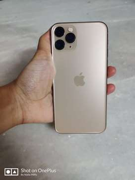 iPhone 11 Pro (Gold) 256GB, 11 months old with bill, box, accessories