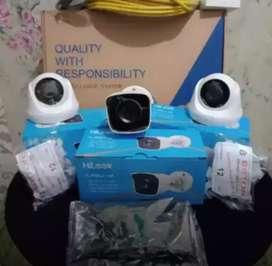 Paket full set kamera CCTV berikut pemasangan