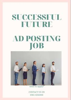 We need some workers for ad posting job to publish ads