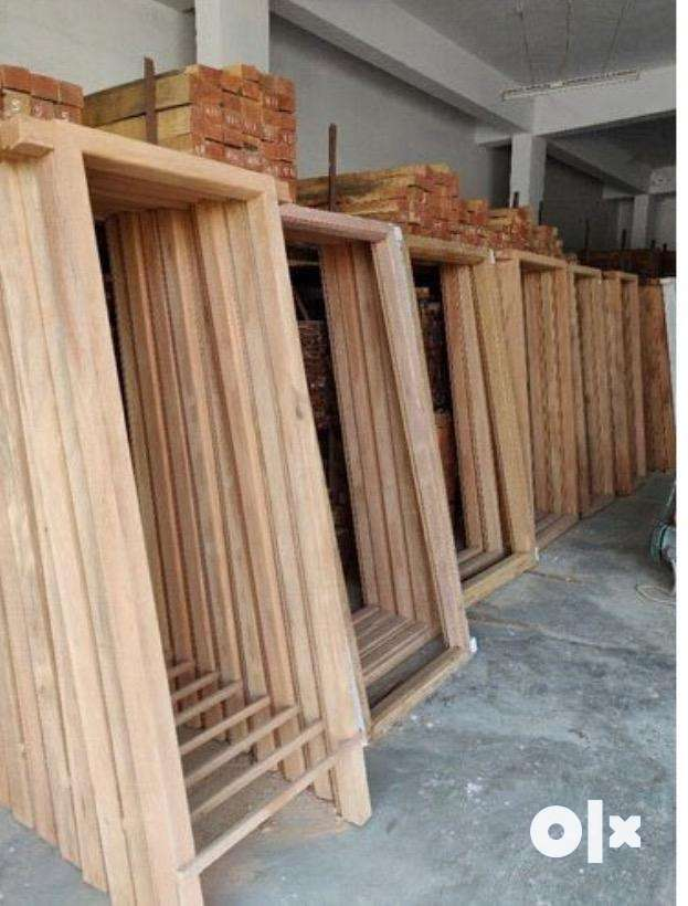 Good quality readymade woods & size wood , round logs all, 'Not second