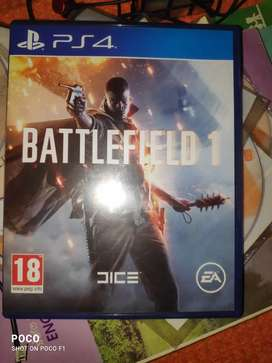 PS4 Ganes Battlefields 1 And Horizon