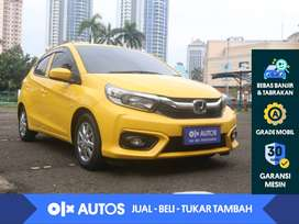 [OLX Autos] Honda Brio Satya 1.2 E A/T 2018 Kuning