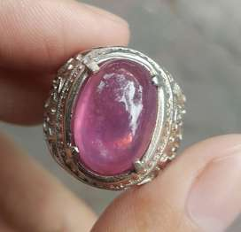Natural Ruby Giwang Crystal