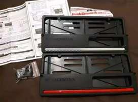 Cover Plat Honda New 100% Asli (sepasang)