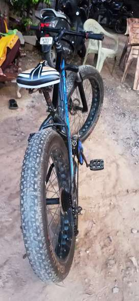 Fat tyer cycle