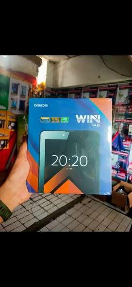 Tab Evercoss win tab U70B 7 inchi 4G ram 3gb