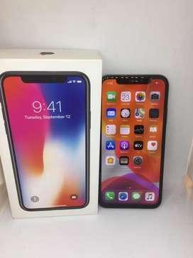 Iphone x 256gb branded condition &warranty &gst bill