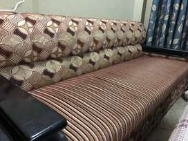 5 Seater Sofa (Sagwan Wood)