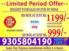 (TATA SKY) - Lowest price in India