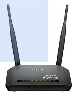 D-Link DIR-605L Wireless N Cloud Router (Black)