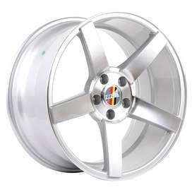 velg HSR-Ne3 Ring-18x8-9-H5x112-Et40-35-Silver-Machine-Face