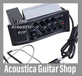 Make your Acoustic into semi Acoustic