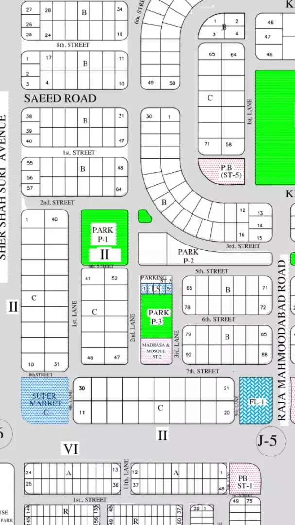 Commercial LS plot for sale in maymar 0