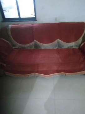 5 seater Sofa (3+1+1)