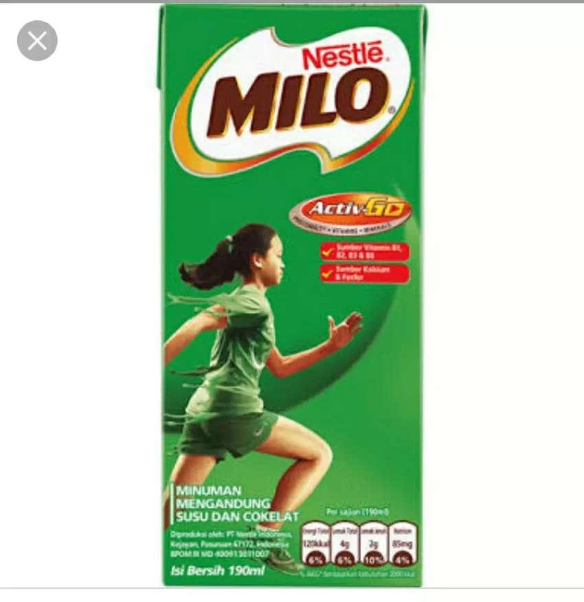 Milo UHT 190 ml per-Karton 0