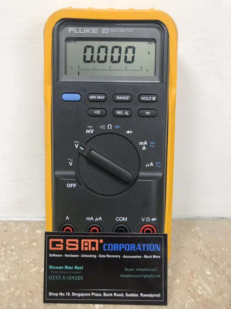 Fluke USA 83 Professional Digital Multimeter (Used) 0